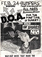 DOA Spores AOT in Surrey fro pUnk History Canada