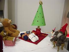 nallarna vill tydligen också ha jul