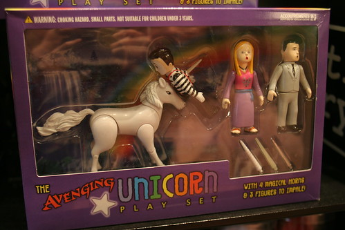 Avenging Unicorn playset - AWESOME