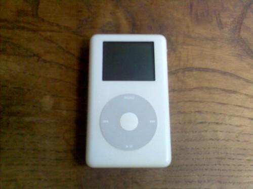 iPod antes de la operación