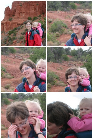 hiking with Maja