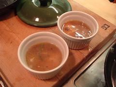 Eggs en concotte, with gravy 4