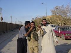 Very grateful Iraqis