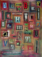 Nancy's Alphabet Challenge Collage