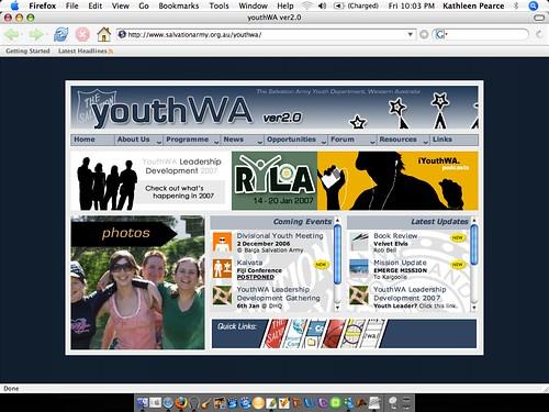 YouthWA ver 2.0
