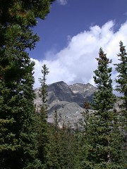 Ypsilon Mountain in Rocky Mountain National Park
