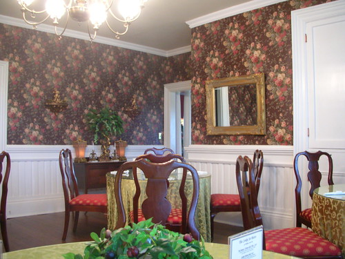 Haunted Walnut Lane Inn Dining Room