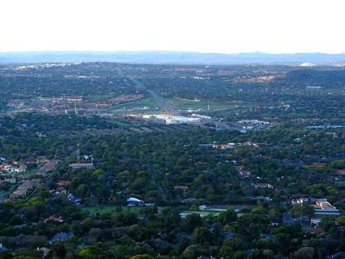 View from Northcliff mountain 1