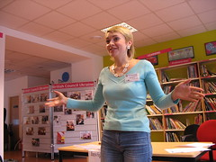 Yulia inspire the audience