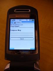 Plaxo Mobile Plus Compose E-Mail