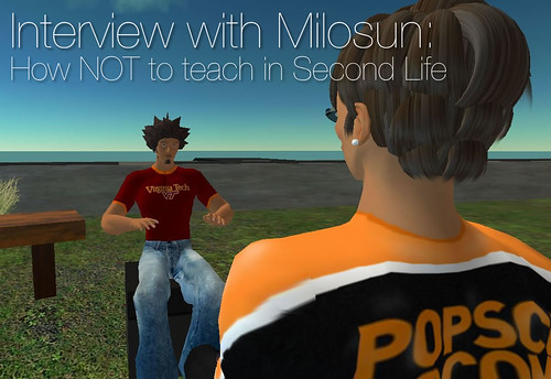 Second Life: Interview with Milosun