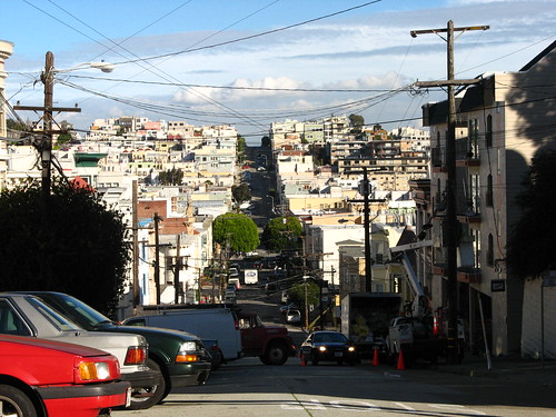San Francisco | Another hilly street