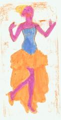 mathilde's tekening