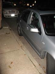 Brad's Poor Car!