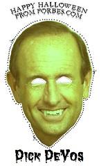Dick Devos Halloween Mask!