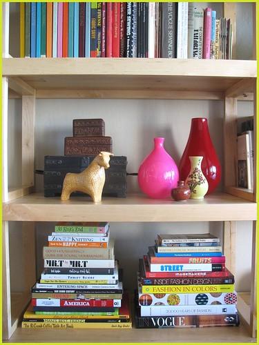 shelf vignette one