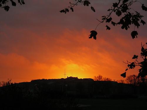 Citadel's Fall at Dawn