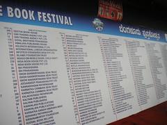 Bangalore Book Festival 2006