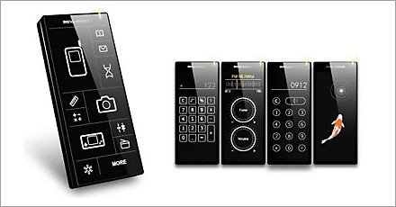 touch screen concept phone multi device