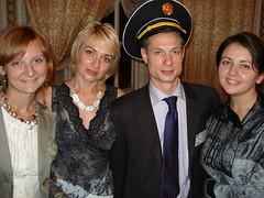 Happy Art-Talkers team - Jane, Yulia, Alex and Masha