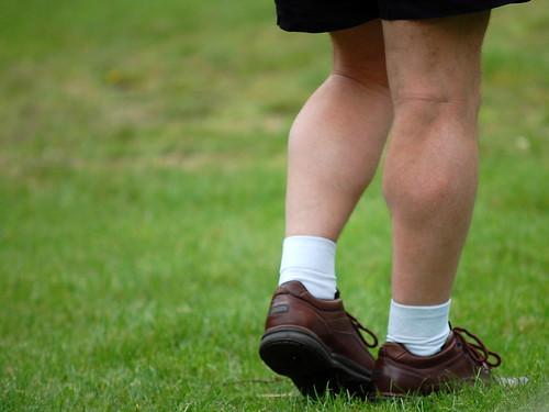 Sexy legs, nice socks :-)
