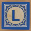 Block Letter L