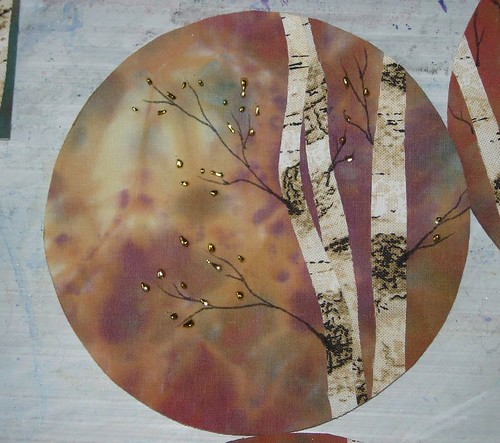 foiled birches