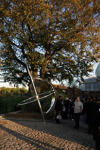 Meridian line sculpture