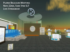 Live Stream of the Plone Belgium Meeting