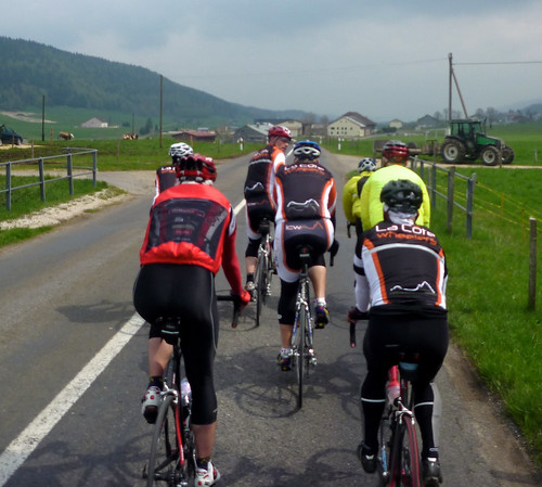 Cycling with La Cote Wheelers