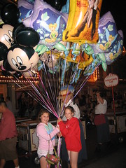 Almost carried away on Disneyland's Main Street