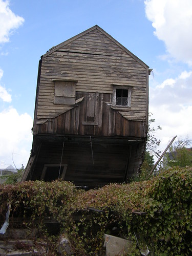 New Orleans Falling Down House