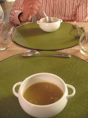 Dissident Chef--1st course Local Dungeness Crab Soup