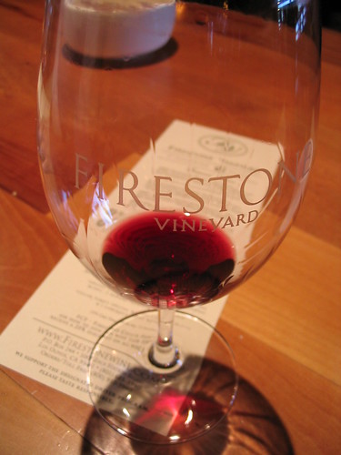 Firestone Winery tasting