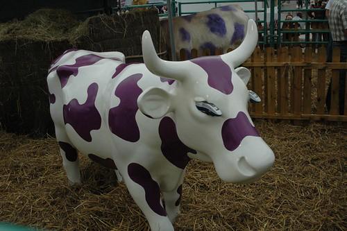 La vaca de Milka en Paris!