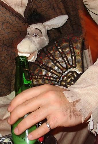 Drink donkey, drink!