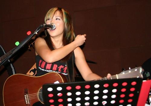 Shirlyn Tan aka Spunky - The UnXpected Band Lead