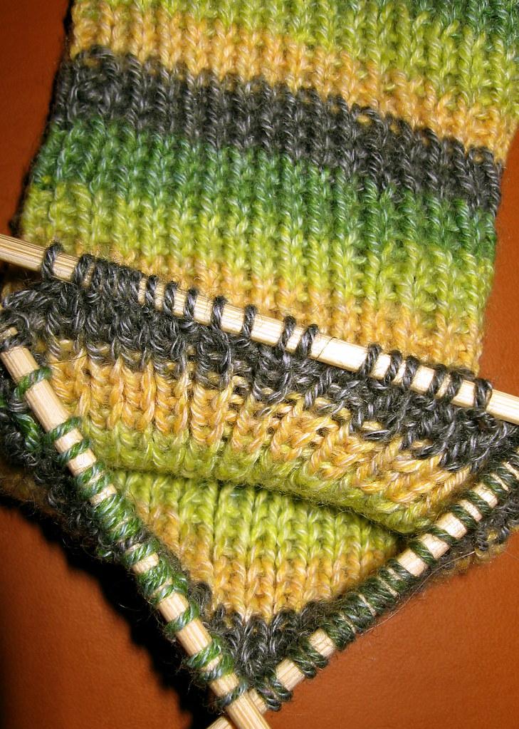 Sock on DIY DPNs (by Brian Sawyer)
