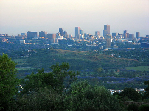 View from Northcliff mountain 2