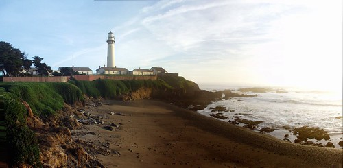 Pigeon Point Near Sunset