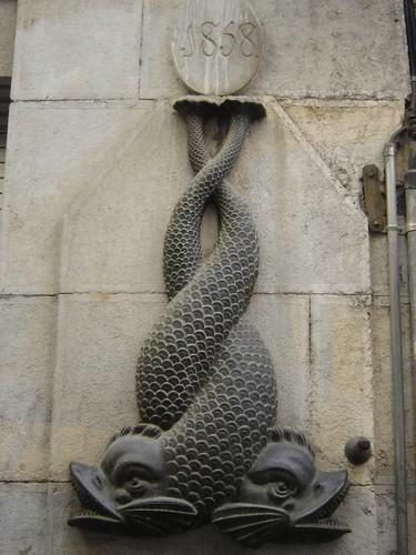Font dels peixos a la rambla Llibertat