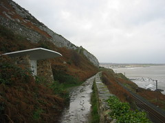 Cliff walk from Bray to Greystones