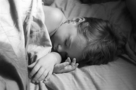 Colin sleeping