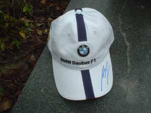2006上海F1:簽名帽