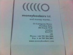 Moneybookers letterhead