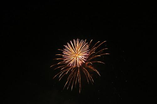 Fireworks in Battersea Park