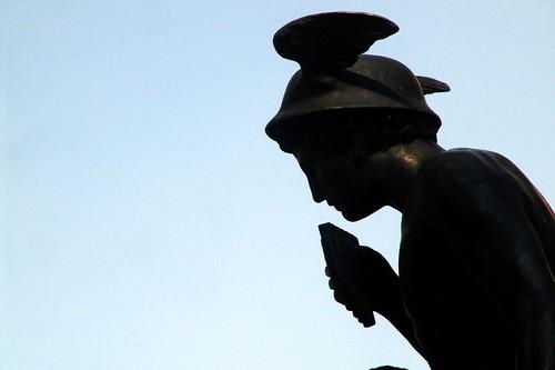 estatua - mercurio