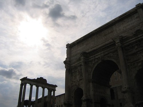 Dusk in the Roman Forum