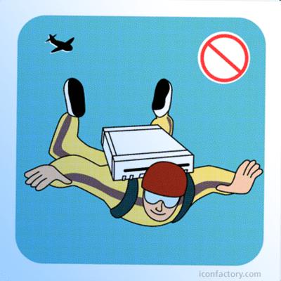 A Wii non é un paracaídas