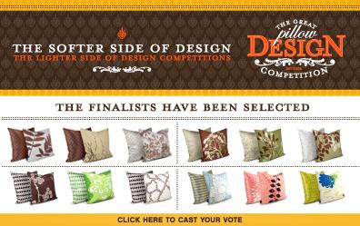 Cast Your Vote for Inhabit's Pillow Design Finalists!